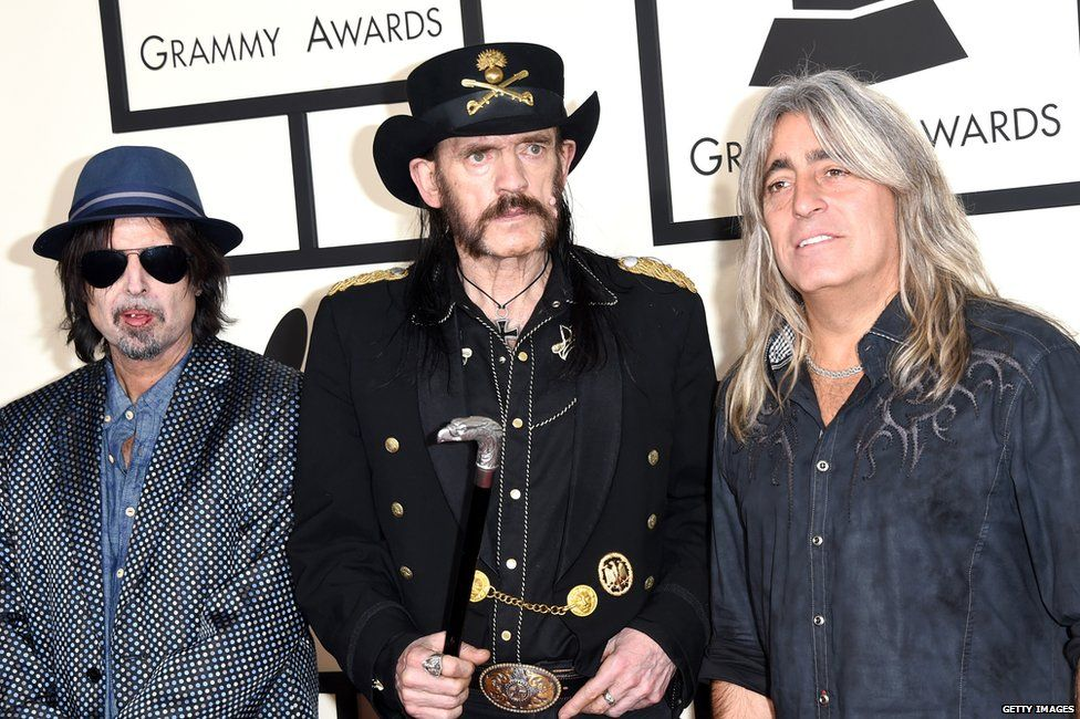 Phil Campbell, Lemmy and Mikkey Dee