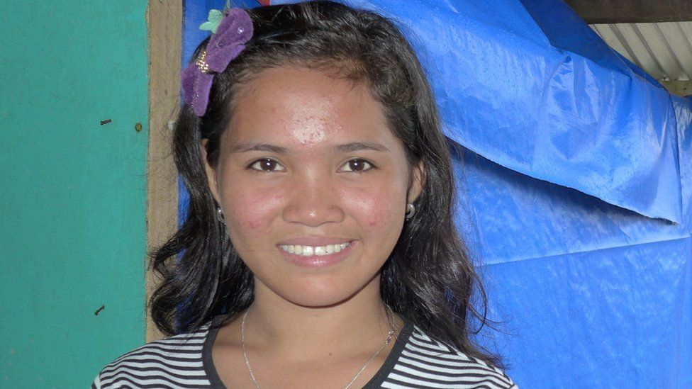 Dear world leaders... Young typhoon survivor's message on climate change