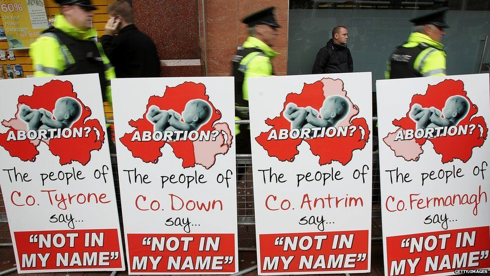 Anti-abortion posters