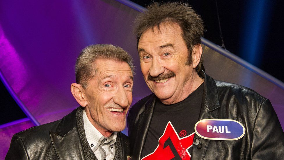 The Chuckle Brothers are TV legends
