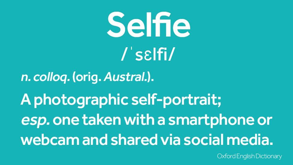 The Oxford English Dictionary definition of selfie