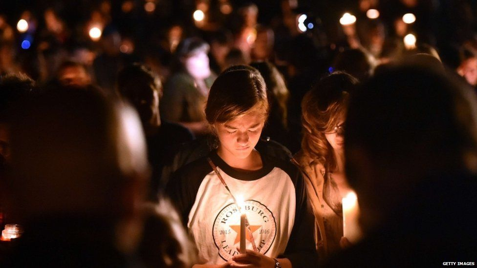 Vigil for students killed in college shooting