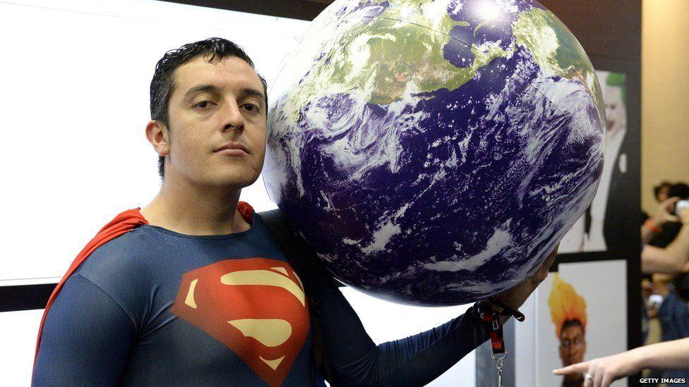 Fans attend Comic-Con International