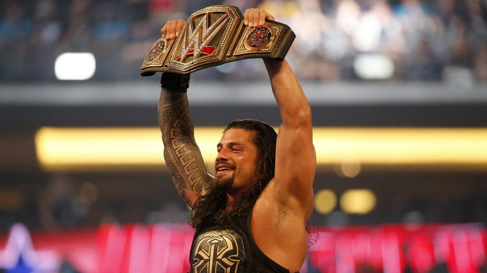 wwe suspends roman reigns for 30 days for violating its drugs policy