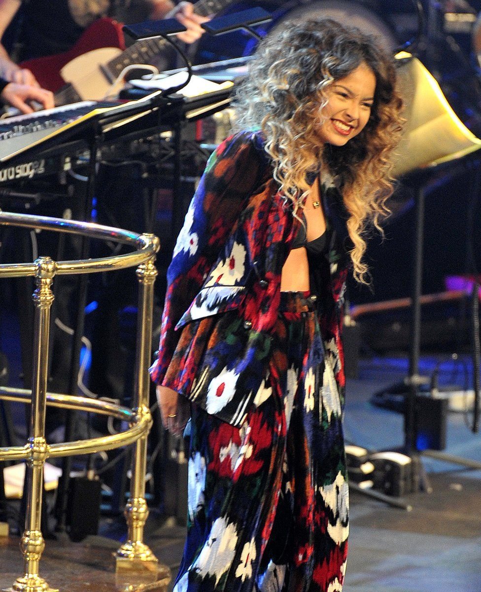 Ella Eyre at the BBC Radio 1 Ibiza Prom