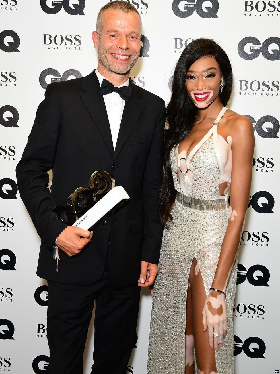 Wolfgang Tillmans and Winnie Harlow