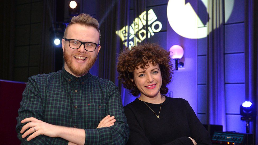Huw Stephens and Annie Mac