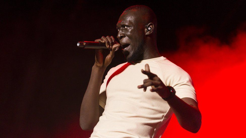 Stormzy at festival in Spain - 13 July