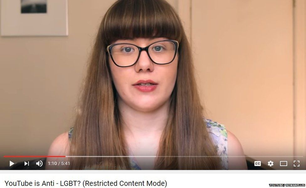 Youtube homosexual warning video