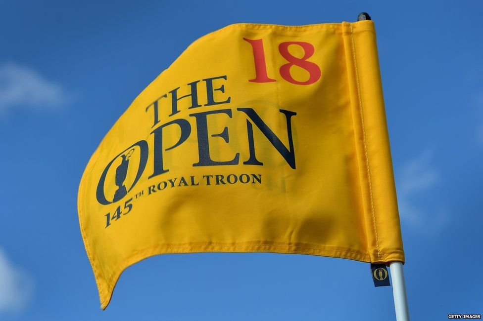 Flag at Troon