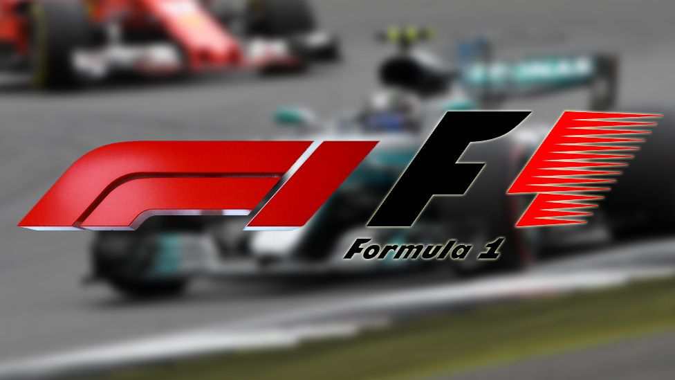 F1's new and old logos