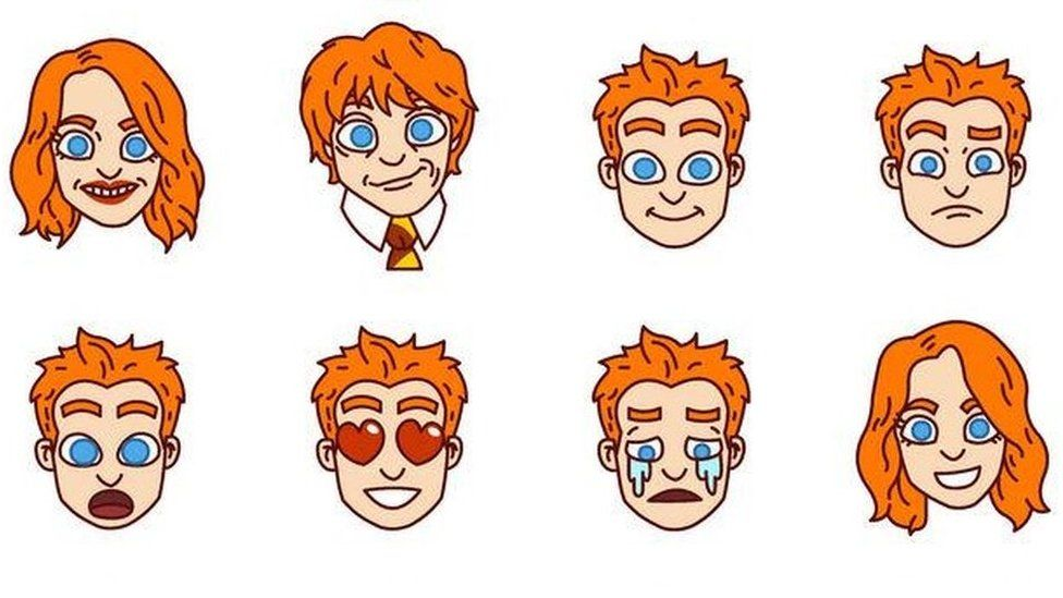 Swyft Media launch new ginger emojis.