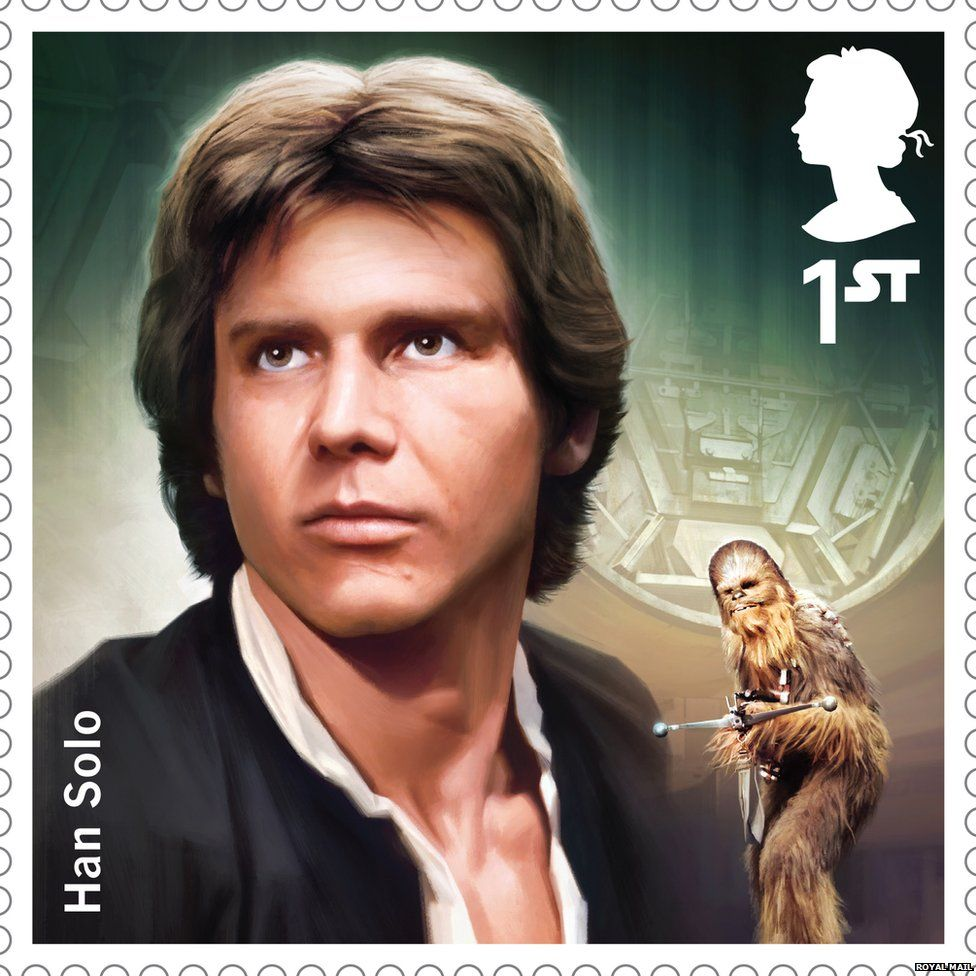 Han Solo stamp