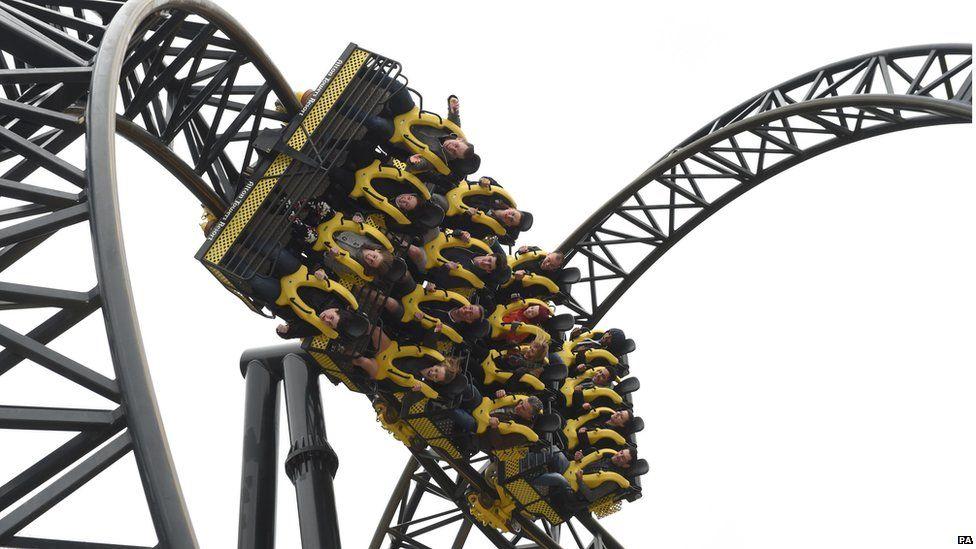 Alton Towers Smiler ride