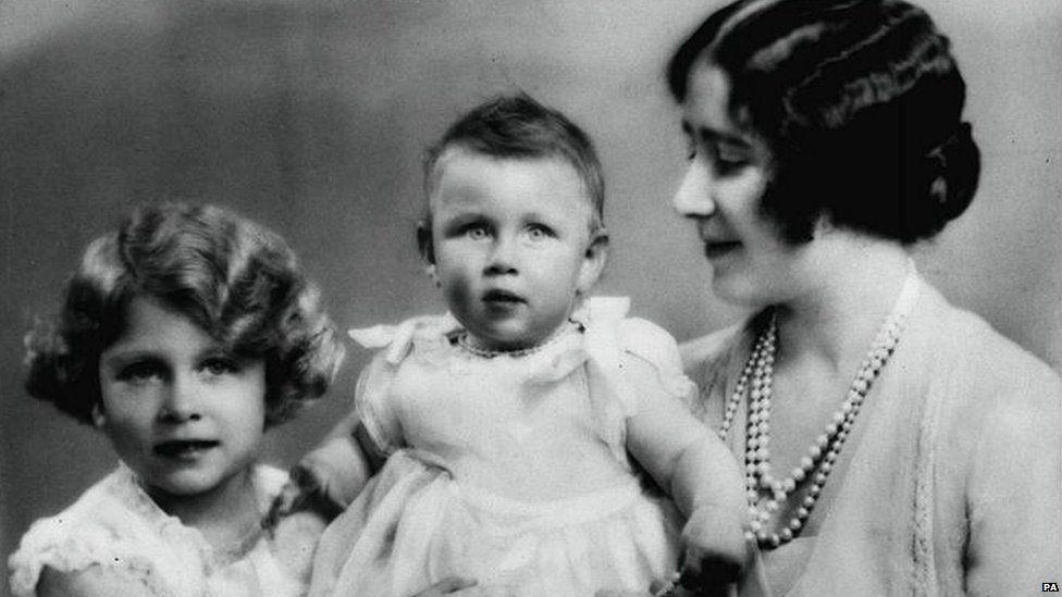 The Queen mother, Queen Elizabeth and Princess Margaret 1931