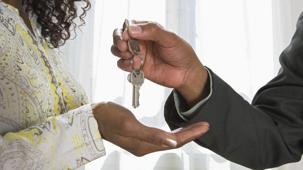keys being handed over