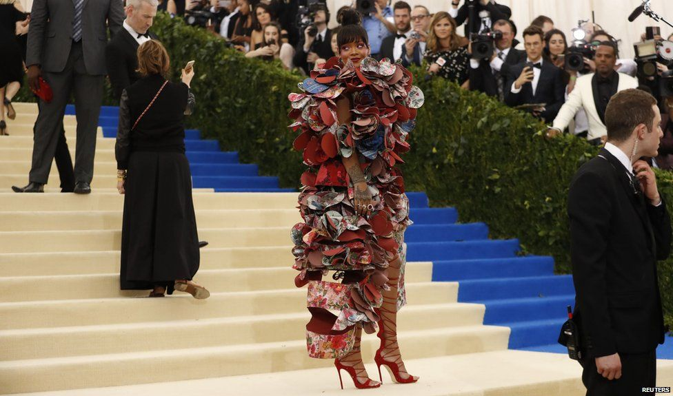 Stars go for bold, barmy and attractive looks at the Met Gala