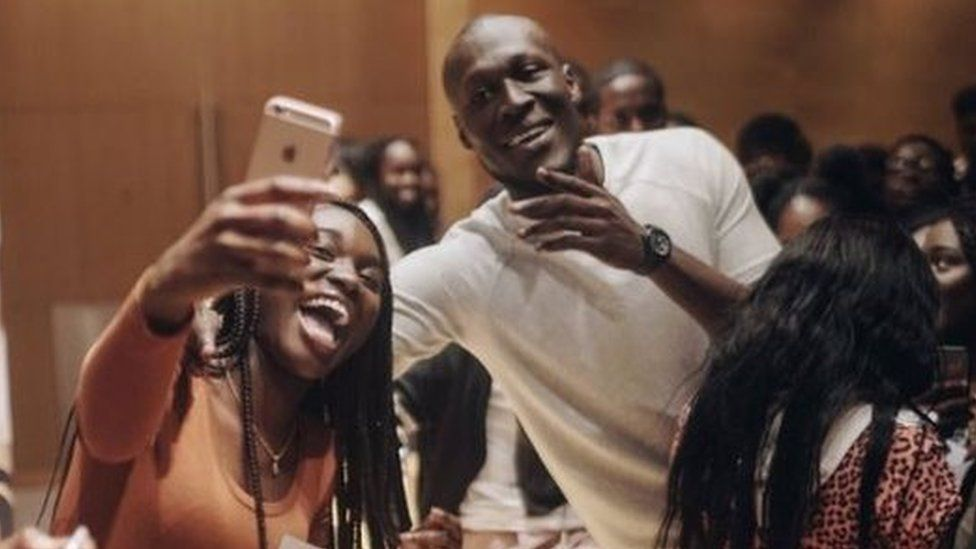Stormzy at the University of Oxford's ACS