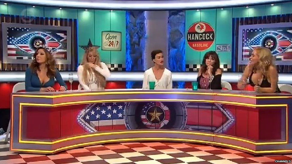 Farrah Abraham, Jenna Jameson, Janice Dickinson, Vicki Michelle and Aisleyne Horgan-Wallace