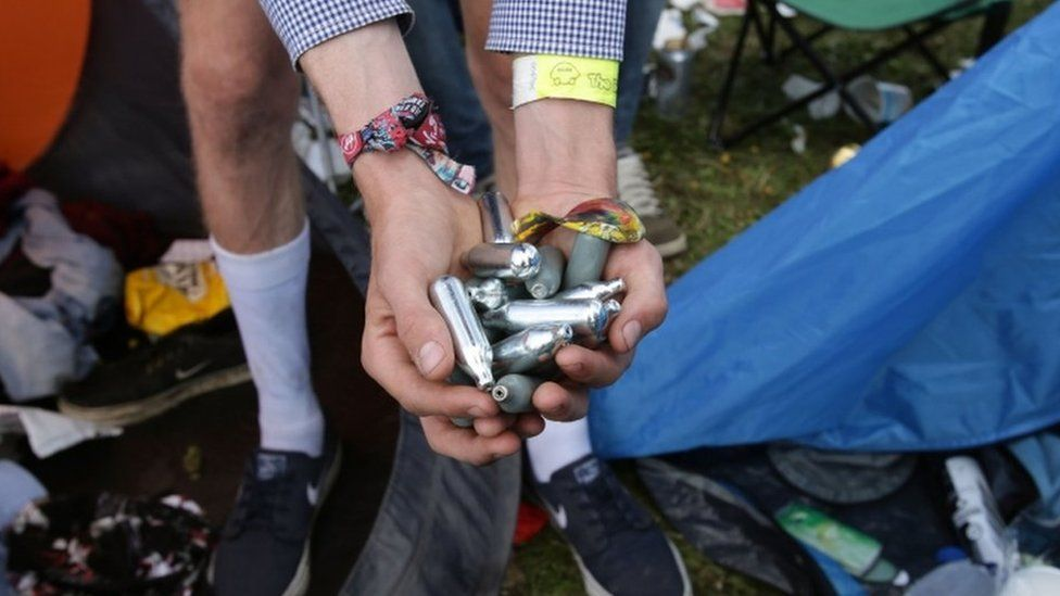 laughing gas canisters
