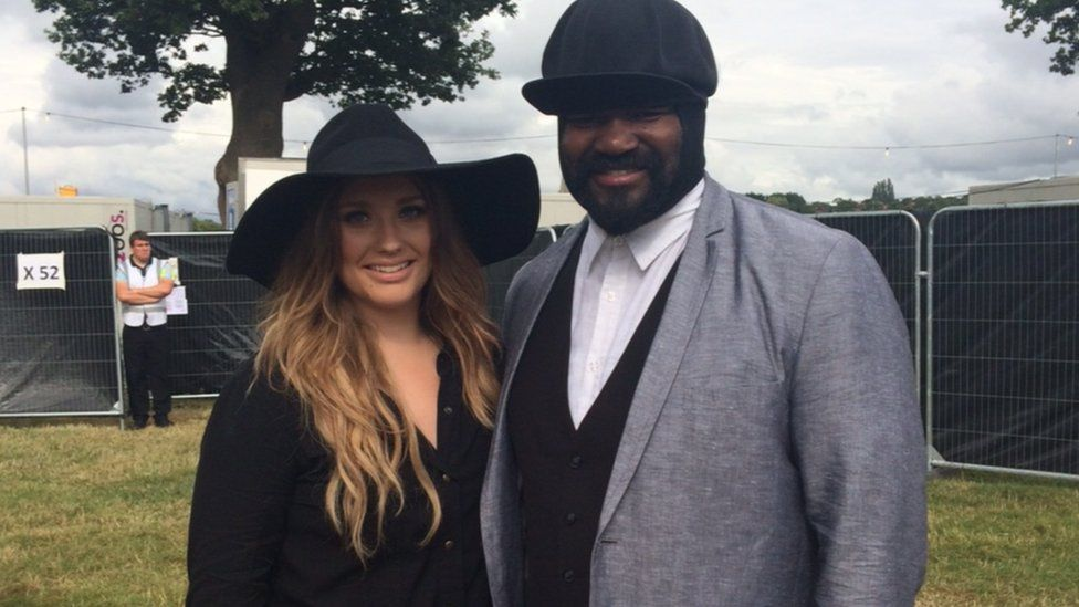 Ella Eyre and Gregory Porter