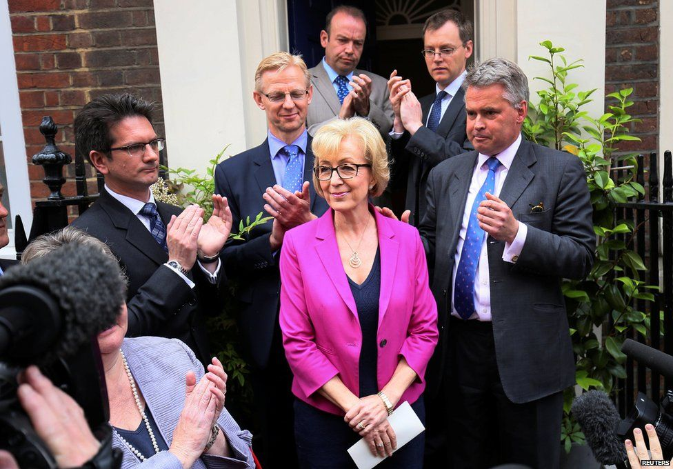 Andrea Leadsom and her supporters