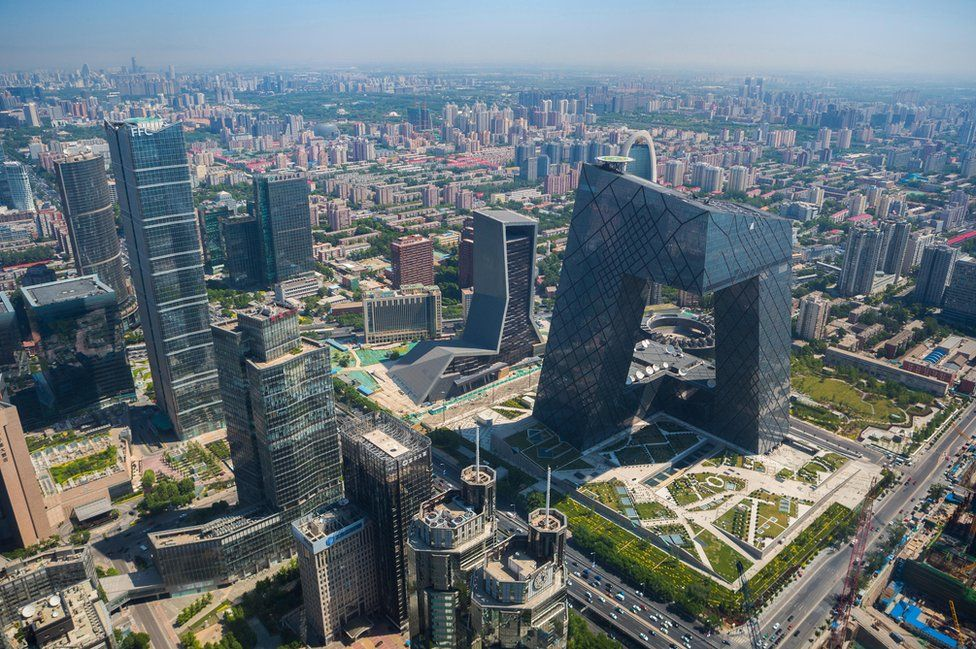 CCTV Television Headquarters building, Beijing
