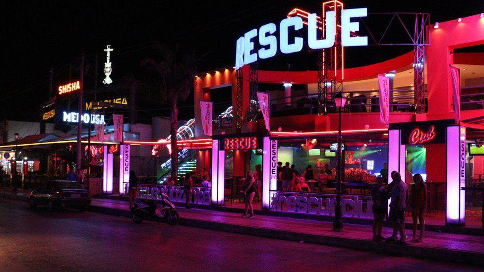 Rescue bar in Zante