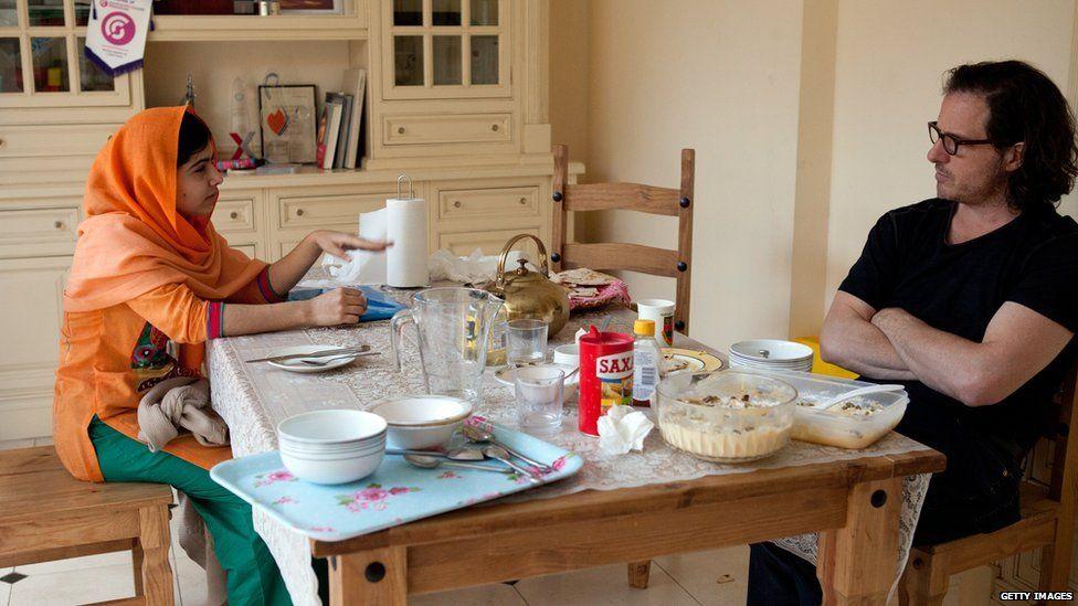 Malala made the film with director Davis Guggenheim