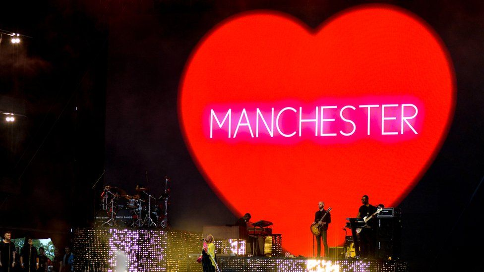 Radio 1's Big Weekend holds minute's silence for Manchester bombing victims