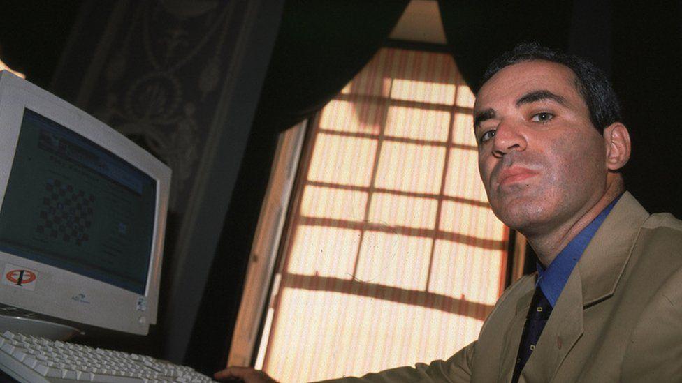 Garry Kasparov in 1999