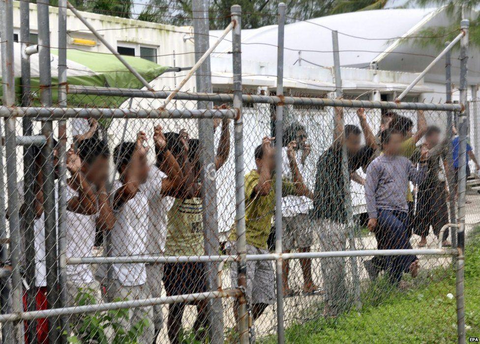 Manus Island detention camp
