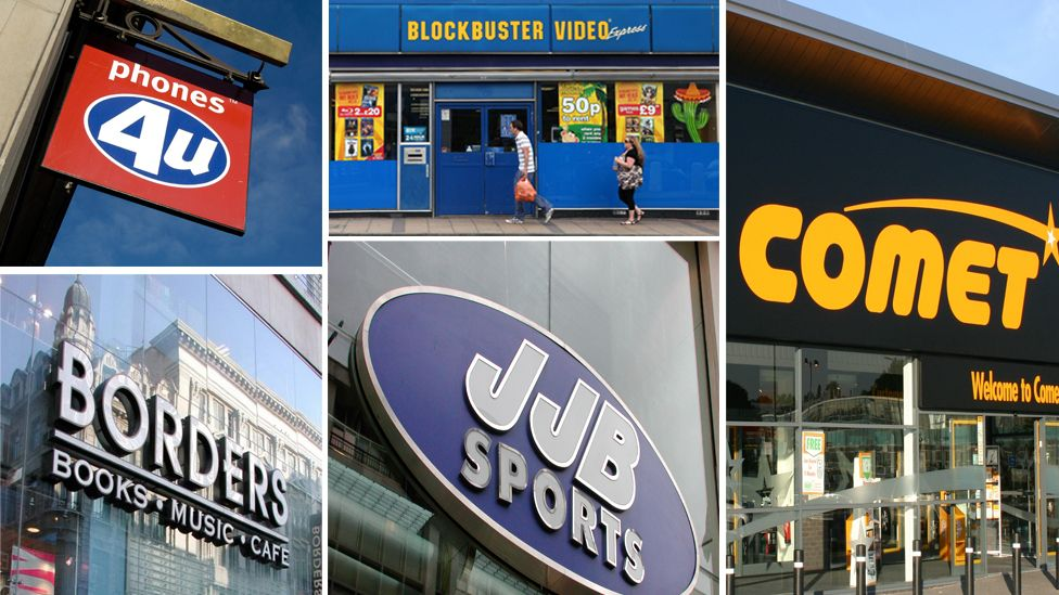 These shops have all vanished in your lifetime