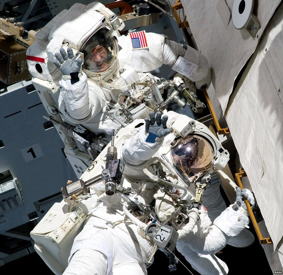People have been on board the International Space Station ...