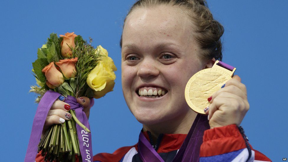 Ellie Simmonds at the 2012 London Paralympics