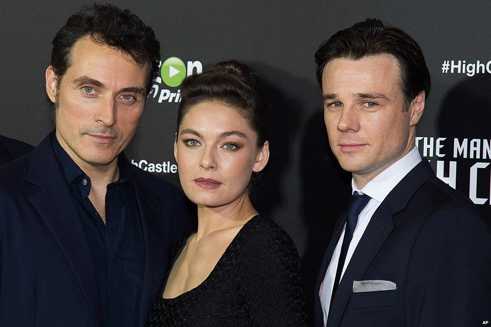 Rufus Sewell, Alexa Davalos and Rupert Evans