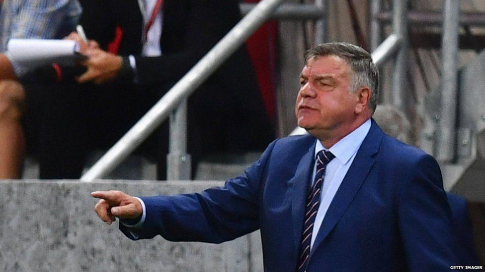 Sam Allardyce managing England