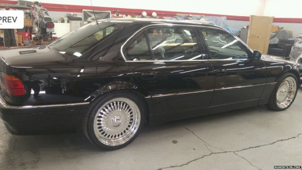For sale: BMW occupied by Tupac when he was killed