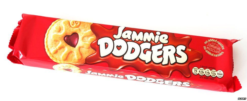 Jammie Dodgers packet