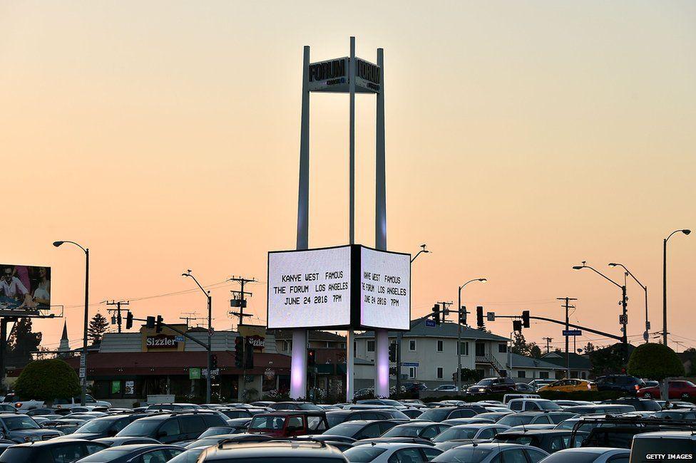 Forum in Inglewood, California