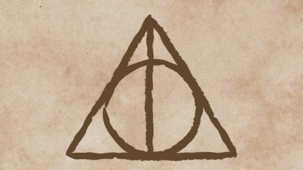 Jk Rowling Reveals The Inspiration For The Deathly Hallows Symbol