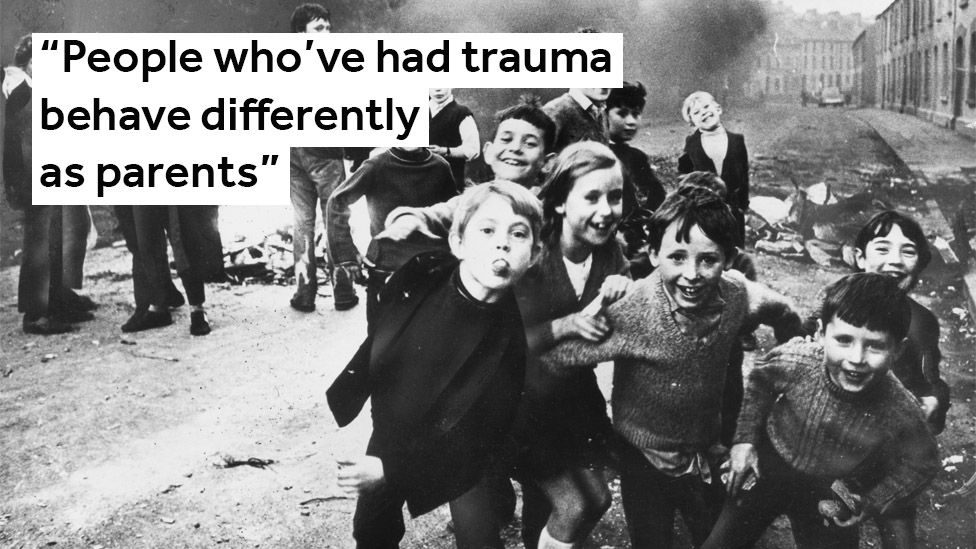 People who've had trauma behave differently as parents