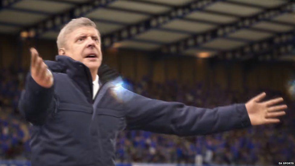 Arsene Wenger in FIFA 17