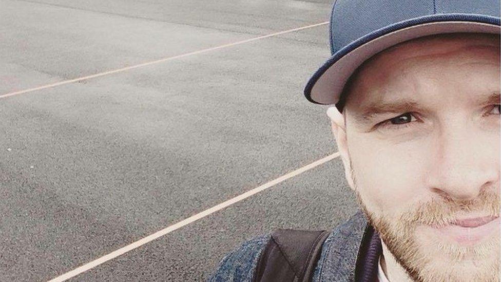 Scott selfie