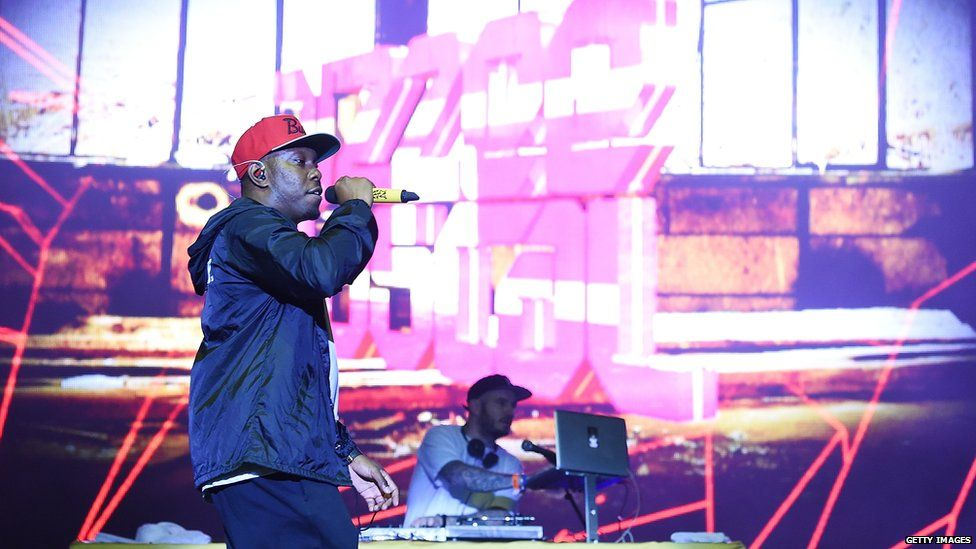 Dizzee Rascal performs at Bestival 2017 at Lulworth Castle