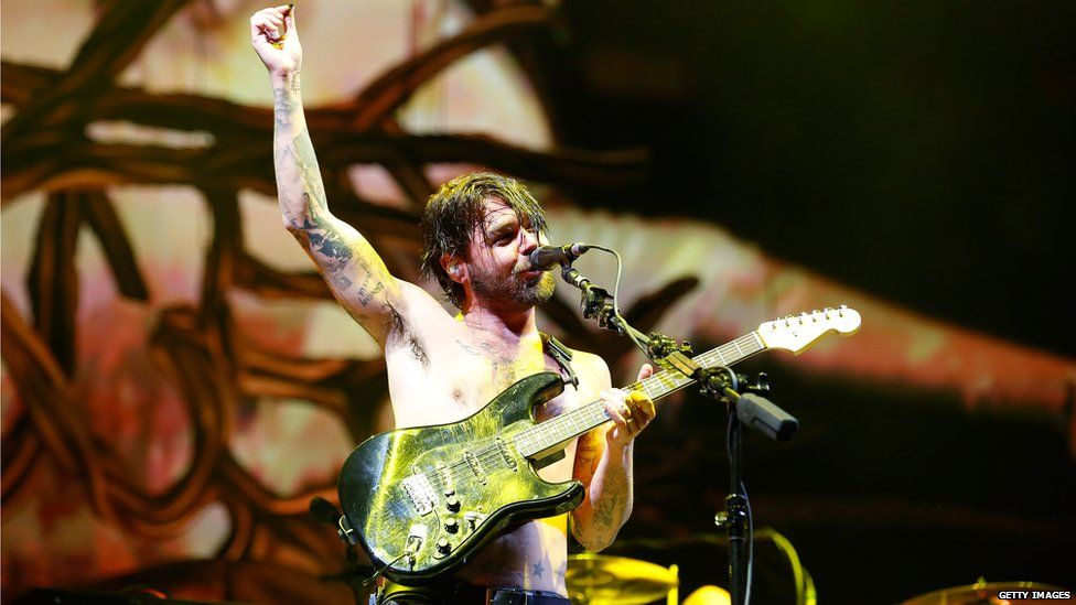 Biffy Clyro headlined the festival for the first time in 2013