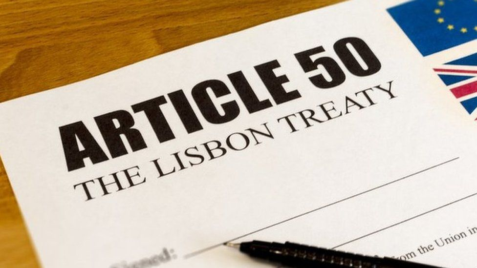 Article 50 letter