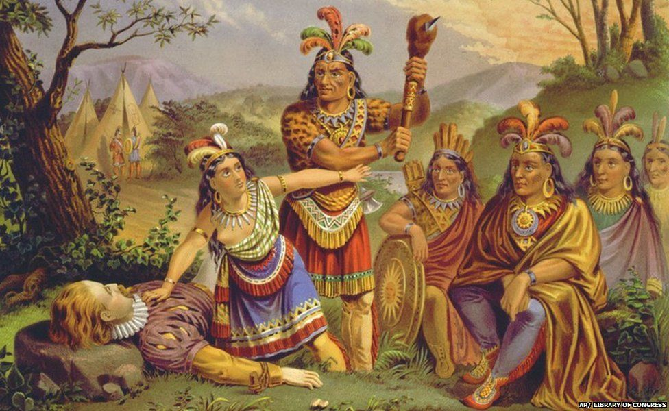 a history behind the story of pocahontas and john smith The legend of pocahontas and explorer john smith is cherished as one of the most touching love stories in american history the problem is that none of it is true the real story of pocahontas is a story of massacres, rapes, and genocides, full of some of the darkest moments in american history.