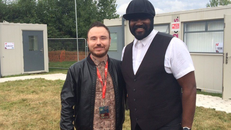 Duke Dumont and Gregory Porter