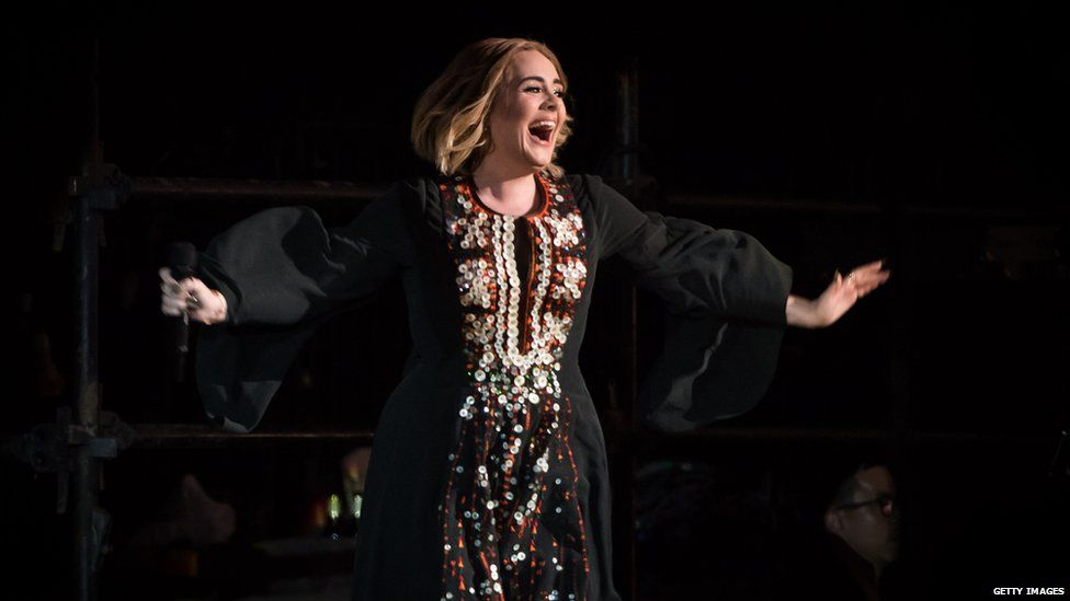 Adele headlined the 2016 festival